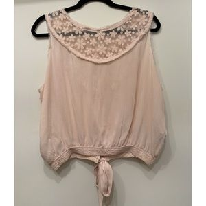 Embroidered Blouse - Light Pink